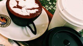 """お台場の""""ホノルルコーヒー""""で、マカダミアナッツフレーバーとコーヒーカップティラミスを堪能"""